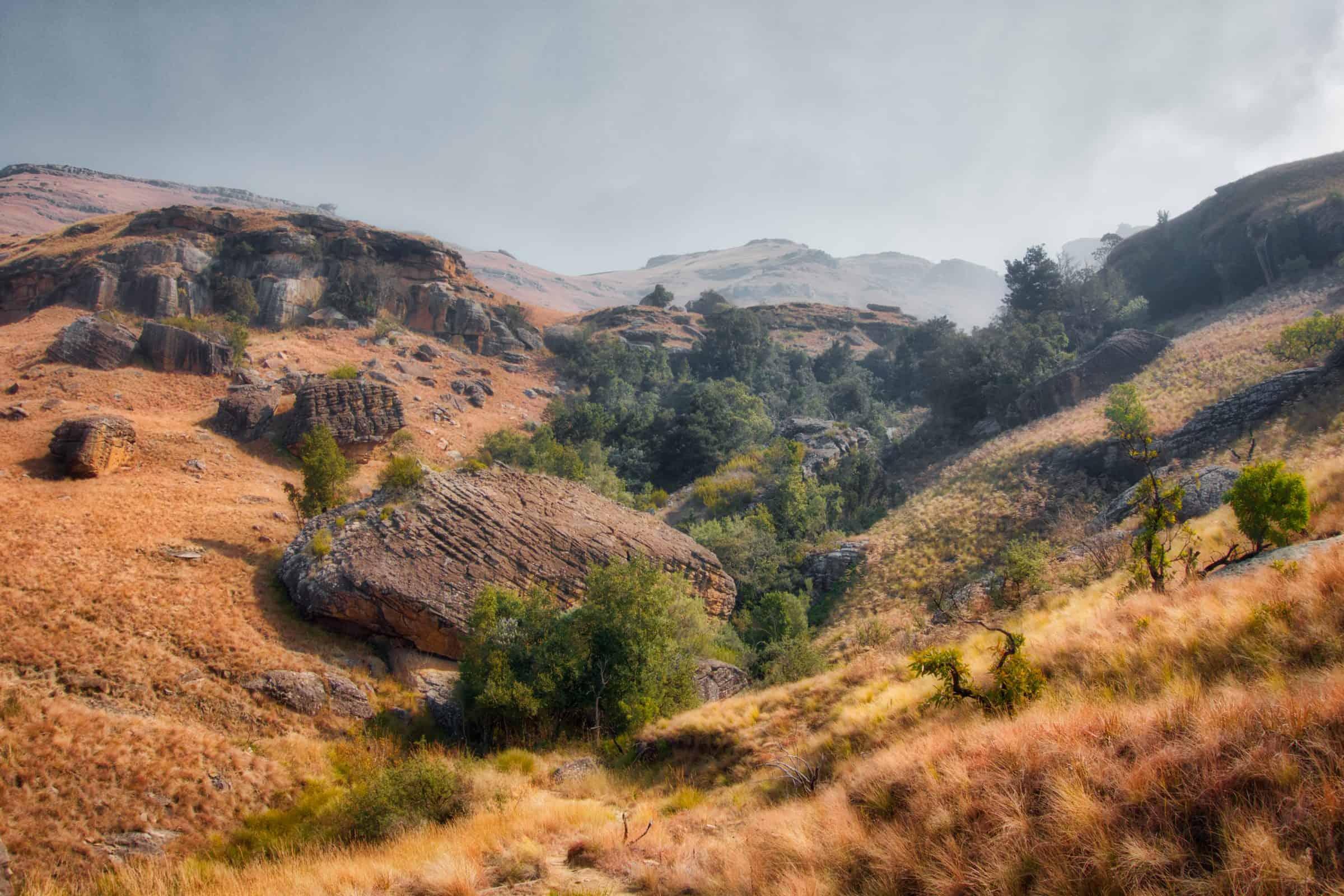 eSwatini landscape