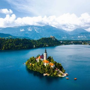 Lake Bled top