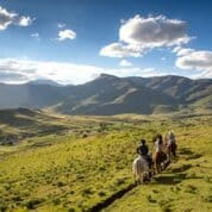 Horse riding in Lesotho