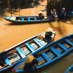River boat Vietnam
